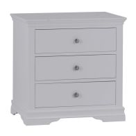 See more information about the Swafield Grey & Pine Chest Of 3 Drawers