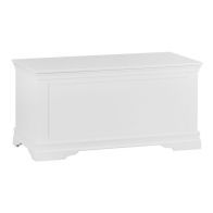 See more information about the Swafield Blanket Box White & Pine 1 Door