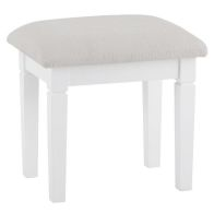 See more information about the Swafield Dressing Stool White & Pine