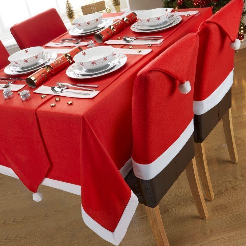 Santa Christmas Tablecloth 52 X 70 In Buy Online At Qd
