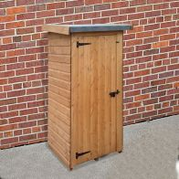 See more information about the Albany Half Wallshed Garden Shed Brown 3' x 2'6""