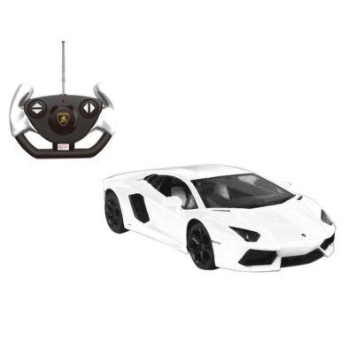 Lamborghini Aventador 1/14 Scale Remote Control Toy Car - White