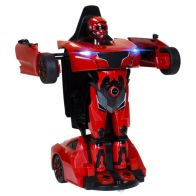 See more information about the RS X MAN Transformer Remote Control Car 2 in 1 Toy - Red