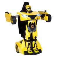 See more information about the RS X MAN Transformer Remote Control Car 2 in 1 Toy - Yellow
