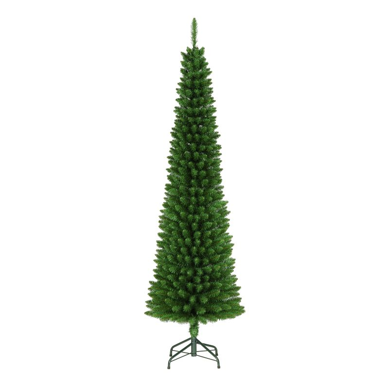Christmas Tree 1.95M (6.5Ft) Green Pencil Tree