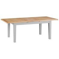 See more information about the Lighthouse Butterfly Dining Table Grey & Oak 6 Seater