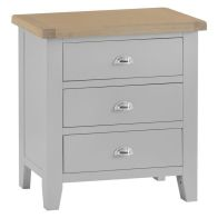 See more information about the Lighthouse Grey & Oak Chest Of 3 Drawers
