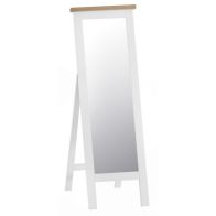 See more information about the Lighthouse Cheval Mirror Oak & White