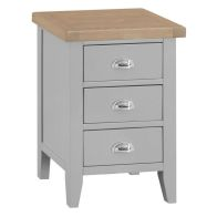See more information about the Lighthouse Bedside Grey & Oak 3 Drawers