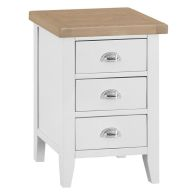 See more information about the Lighthouse Bedside Oak & White 3 Drawers