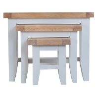 See more information about the Lighthouse Trio Nest of Tables Grey & Oak