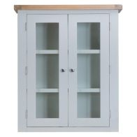 See more information about the Lighthouse Oak Top Small 2 Door Dresser Top & Lights - Grey