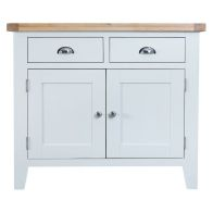 See more information about the Lighthouse Oak 2 Door 2 Drawer Sideboard White