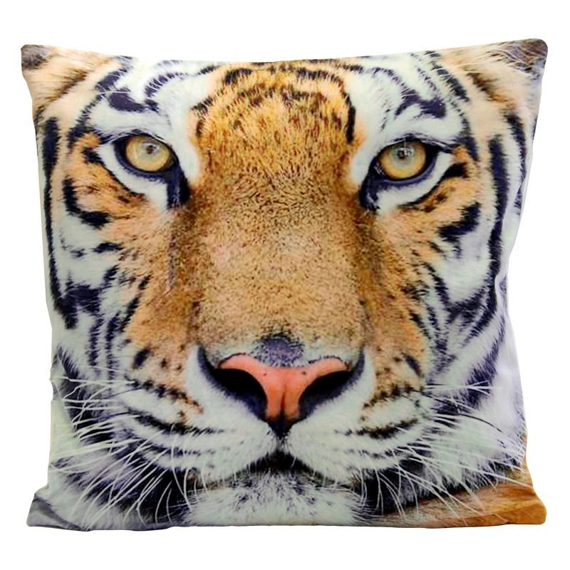 Jumbo Photographic Animal Cushion - Tiger