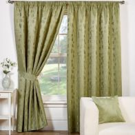 "See more information about the Trieste Curtains (45"" Width x 54"" Drop) - Green"
