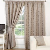 "See more information about the Trieste Curtains (45"" Width x 54"" Drop) - Mink"