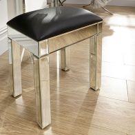 See more information about the Venetian MDF Mirrored Dressing Table Stool