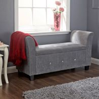 See more information about the Verona Window Seat Grey With Storage