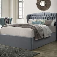 See more information about the Warwick Double Ottoman Bed Grey