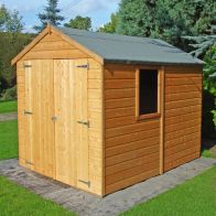 See more information about the Shire Warwick Shiplap Garden Shed 8' x 6'