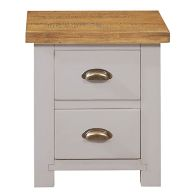 See more information about the Dovetale Oak 2 Drawer Table