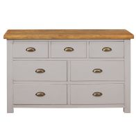 See more information about the Dovetale Oak 7 Drawer Chest