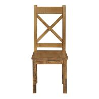 See more information about the Rustic Oak Dining Chair