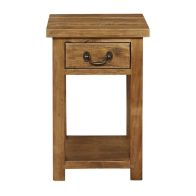 See more information about the Rustic 1 Drawer Console Table