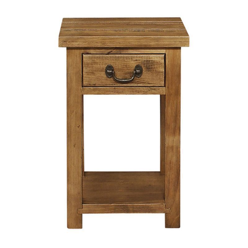 Rustic 1 Drawer Console Table
