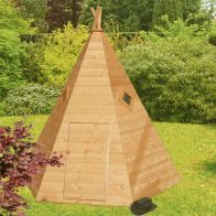 See more information about the Shire Wigwam Garden Playhouse 7' x 6'