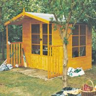 See more information about the Shire Winton Garden Summerhouse & Veranda (8' x 11')