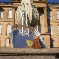 See more information about the National Trust Aluminium Large Garden Dustpan with Hand Brush