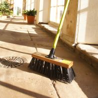 See more information about the National Trust PVC Heavy Duty Garden Yard Brush 14""