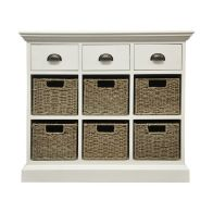 See more information about the Rivera 3 Drawer 6 Basket Storage Furniture