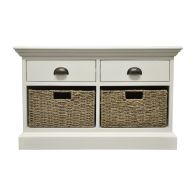 See more information about the Rivera 2 Drawer 2 Basket Storage Furniture