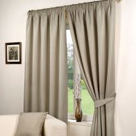 "See more information about the Hamilton McBride Fusion Waffle Curtains (46"" x 54"") - Taupe"