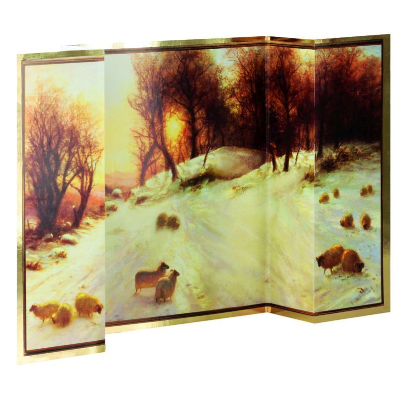 14 Three-fold Christmas Cards (Fine Art Winter) - Buy Online at QD ...