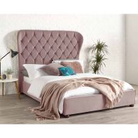 See more information about the Zurich Wing Back Double Bed Pink