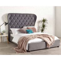 See more information about the Zurich Wing Back Double Bed Grey