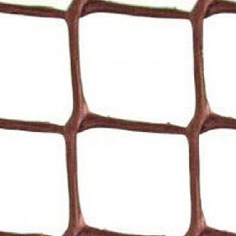 5m x 0.5m Growing Patch Garden Mesh Plastic Brown
