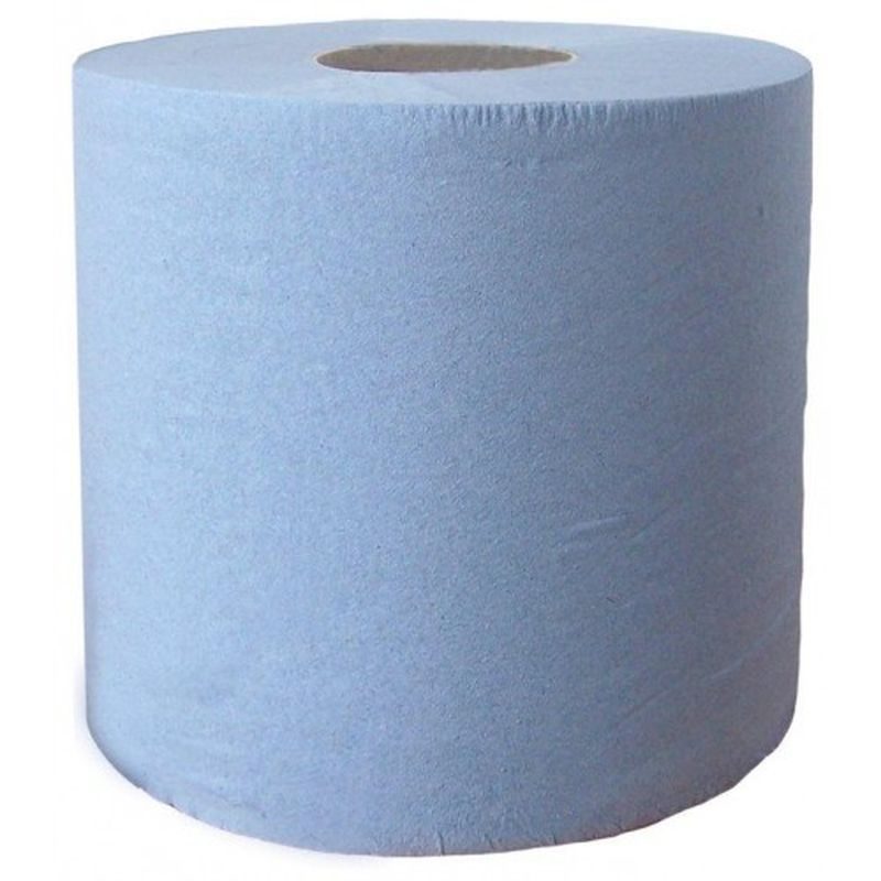 Blue Centre Feed Towel Roll