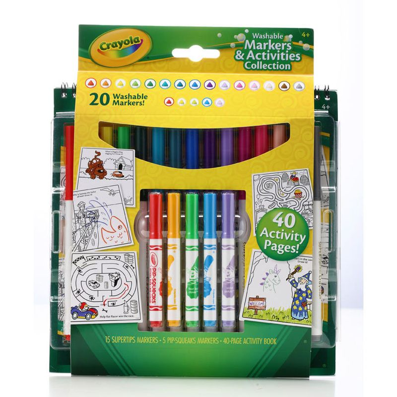 Crayola Markers and Activities Collection (20 Markers)