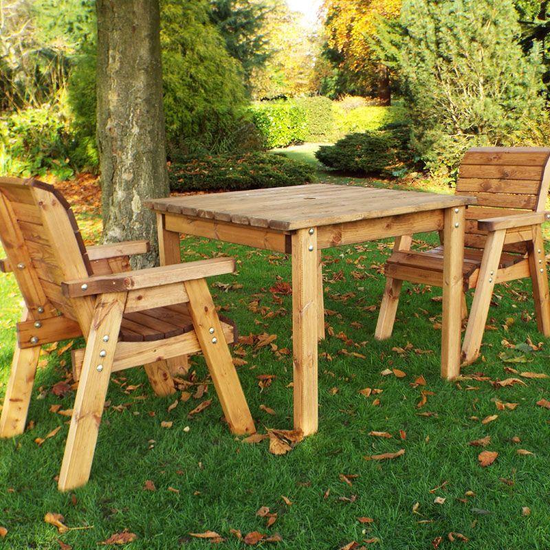 2 Seat Scandinavian Redwood Patio Outdoor Garden Dining Set Ebay