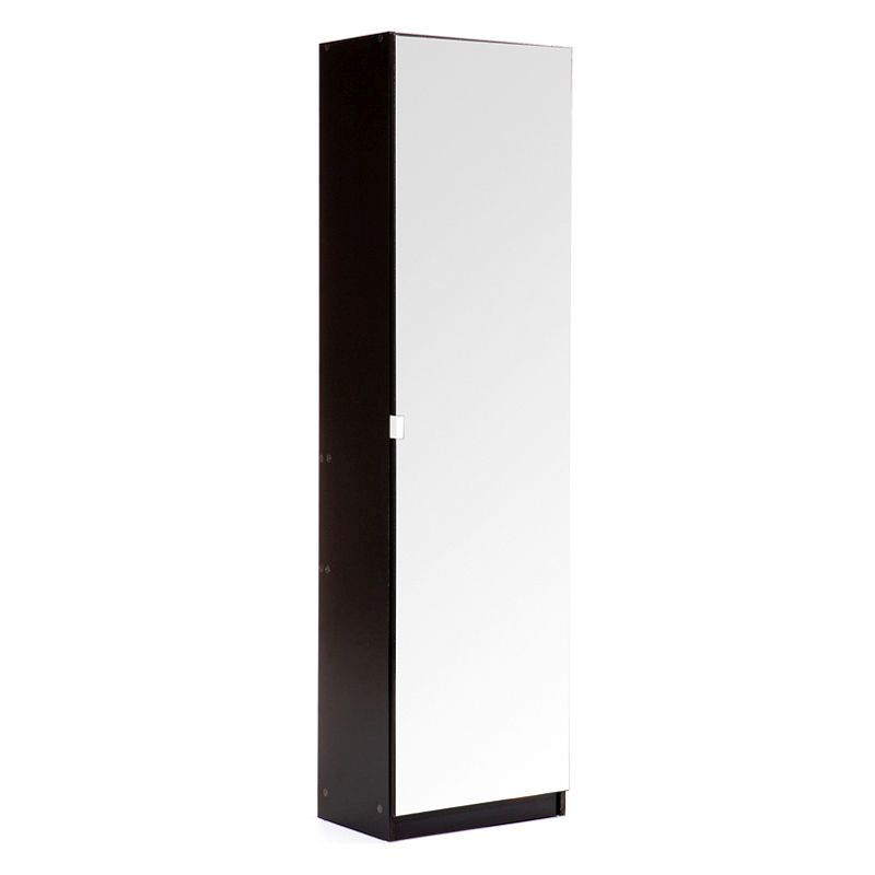 Awesome Details About Shoe Storage Cabinet Furniture 180Cm Mirrored Black Mirror Mirrored Download Free Architecture Designs Grimeyleaguecom