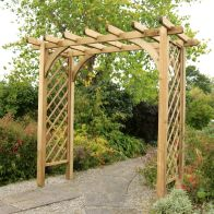 See more information about the Horizon Wooden Large Garden Arch