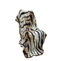 See more information about the 200x240cm Tiger Print Throw