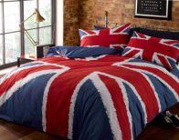 Union Jack King Size Duvet Set