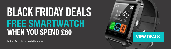 Black Friday Deals - Free smartwatch when you spend £60