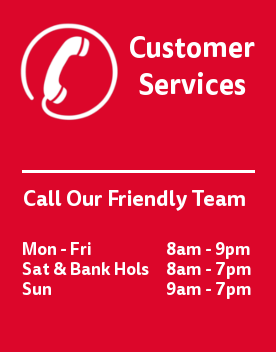 Call our customer service team