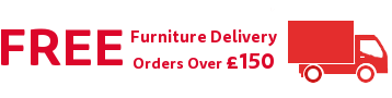 Free delivery on all furniture orders over £150